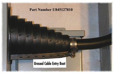 R280572000 Cable Boots UMP SMT RECEPTACLE BOOT GREEN, Pack of 40